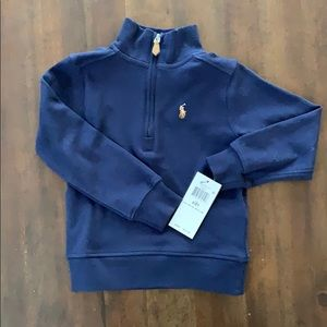 NWT Toddler Ralph Lauren Polo Pullover - 2T